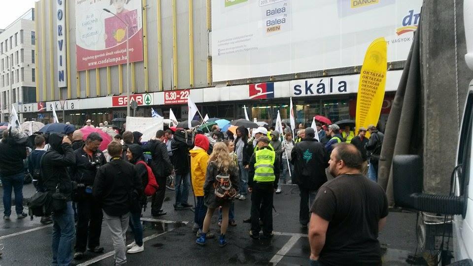 oktatás tüntetés (Array)