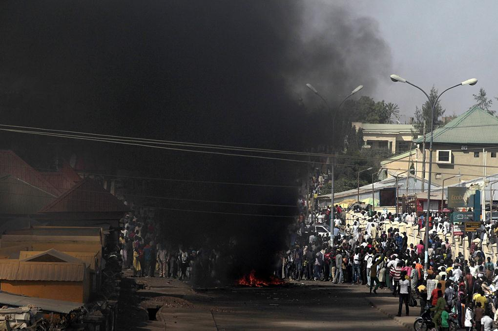 robbantás nigériában (Array)