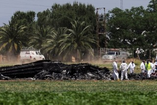 spanyol repülőgépbaleset (Array)