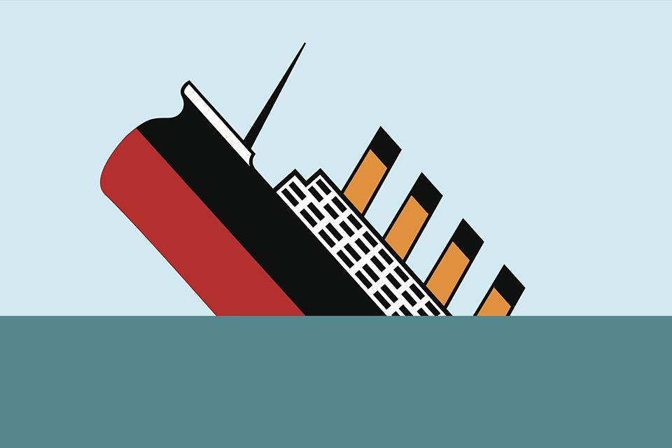 süllyedő hajó (Array)