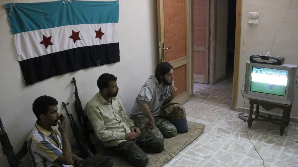 szíriai meccsnézés (Array)