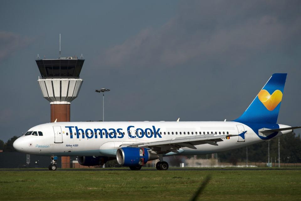 thomas cook légitársaság (Array)