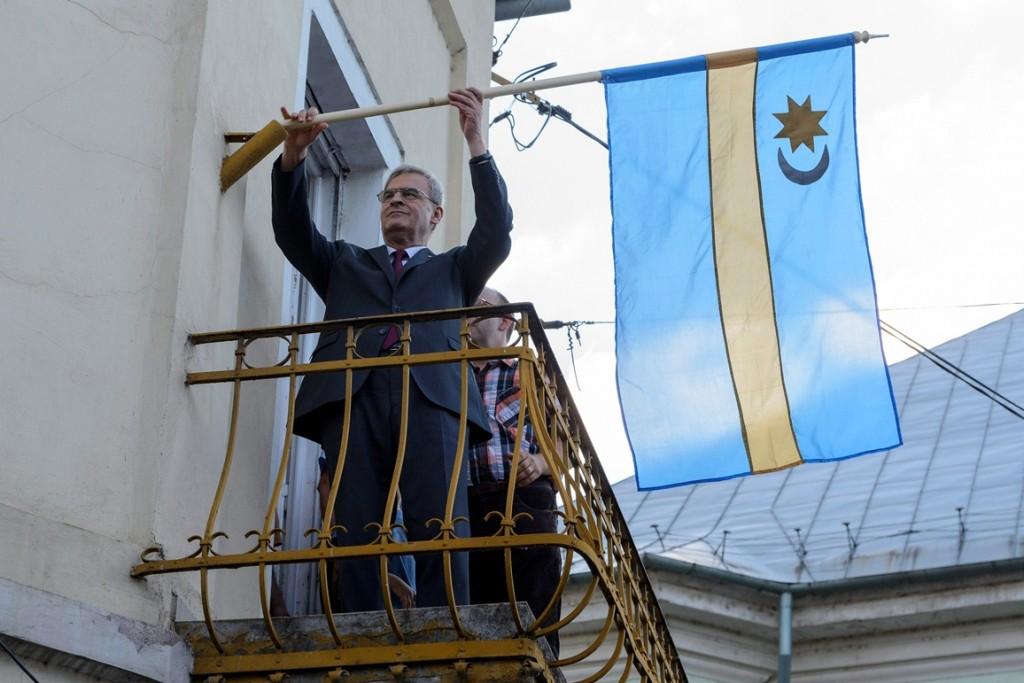 tőkés lászló székely zászlója (Array)