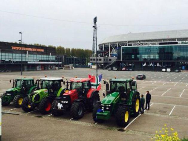 traktor, groningen (Array)