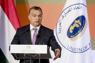 Arab Bankok Szövetsége, éves közgyűlés, Orbán (Array)