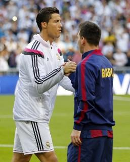 Cristiano Ronaldo, Lionel Messi (Array)