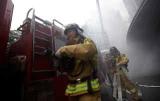 Dél-koreai tűzoltók (Array)