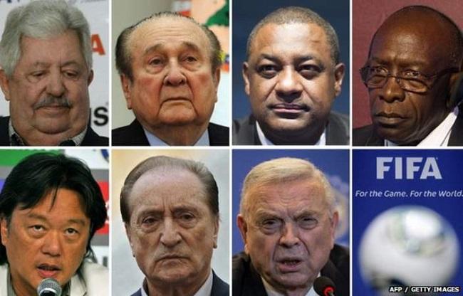 FIFA letartóztatottak (Array)