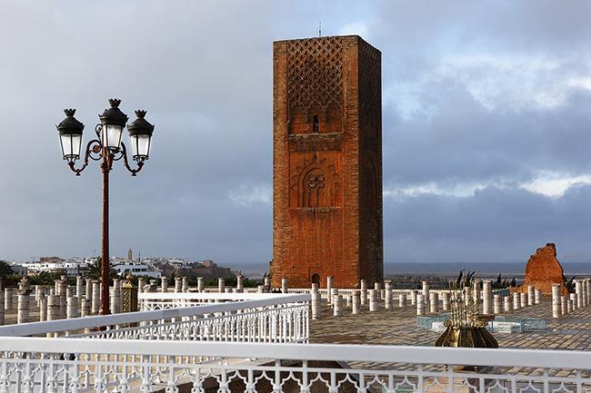 Hassan torony, Rabat (Array)