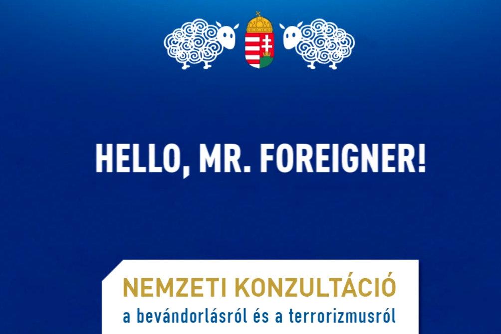 Hello, mr fooreigner (Array)