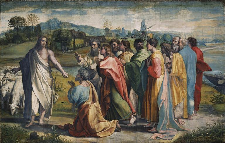 Jézus és az apostolok (Array)