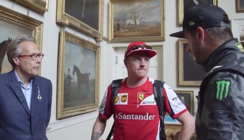 Kimi Räikkönen, Ken Block (Array)