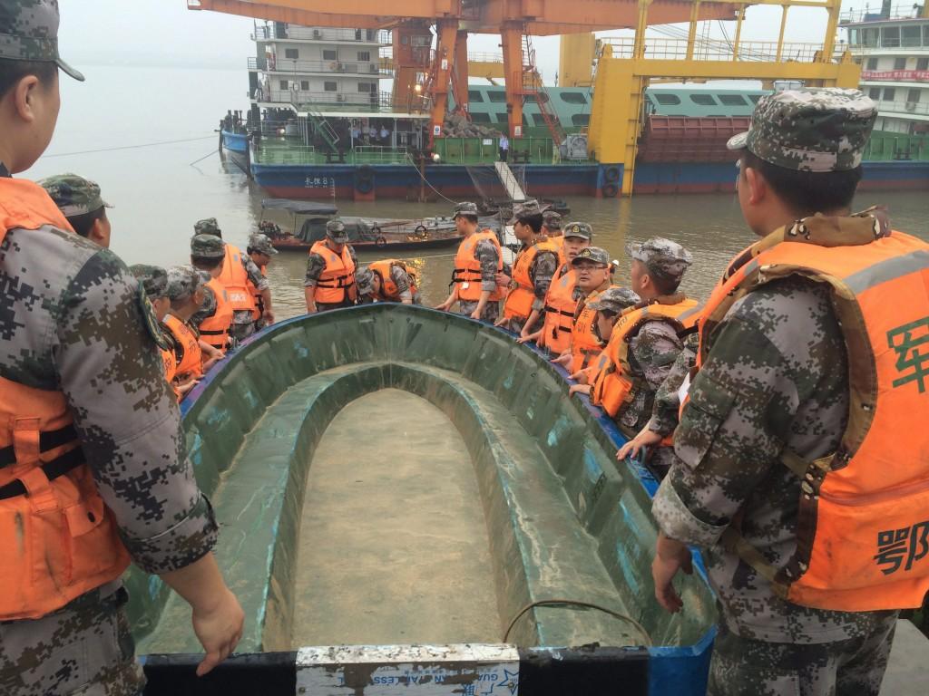 Kínai hajó mentése (Array)