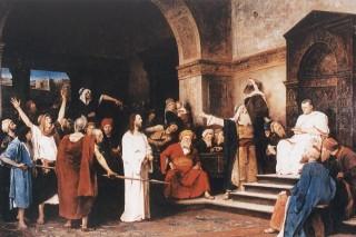 Krisztus Pilátus előtt (Array)