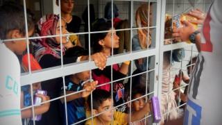 Menekült gyerekek (Array)