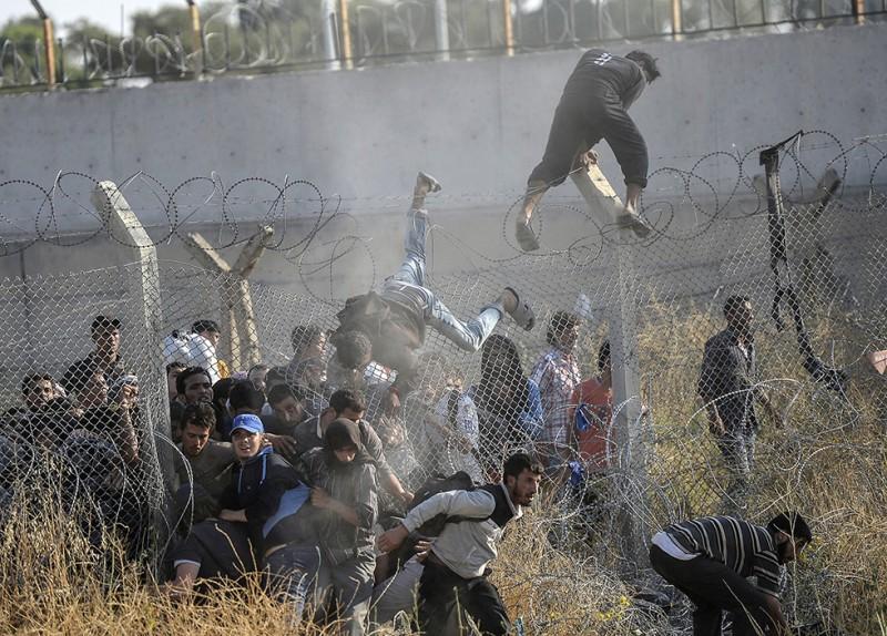 Nincs kerítés, ami, menekült, határzár 14 (Array)