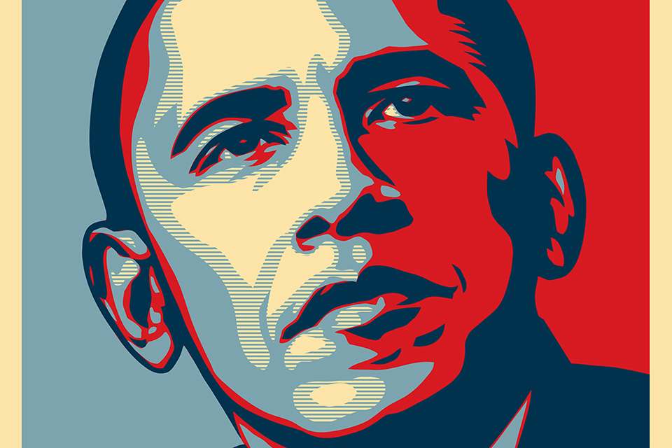 Obama poszter (Array)