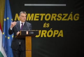 Orbán a Kohl-konferencián (Array)