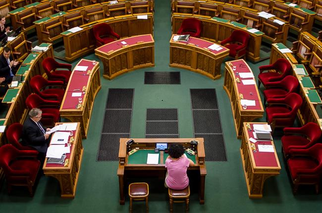 Parlament, patkó (Array)