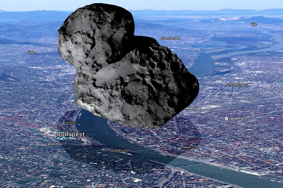 Rosetta üstökös (Array)