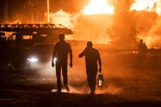 Tűz Kijev mellett (Array)