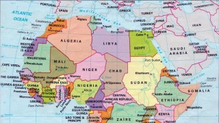 afrika térkép (Array)