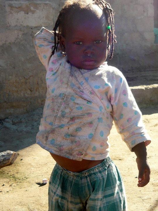 afrikai gyerek (Array)