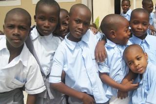 afrikai gyerekek (Array)