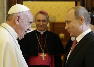 ferenc pápa putyin (Array)