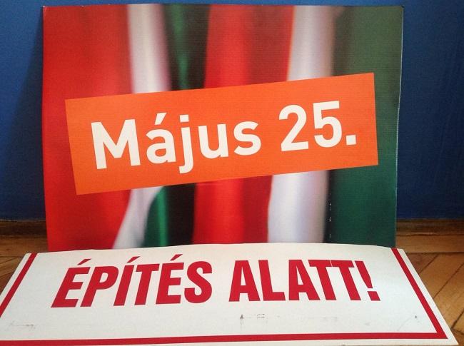 fidesz plakát otthon (Array)