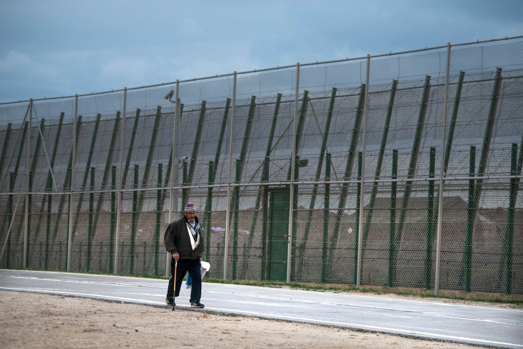 határzár, Spanyolország (Array)