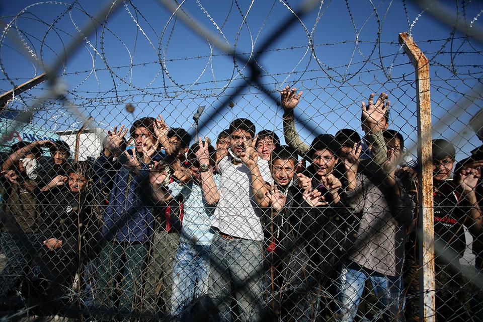 határzár, görörország, határ (Array)