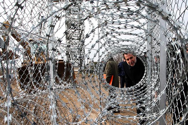 határzár, törökország (Array)