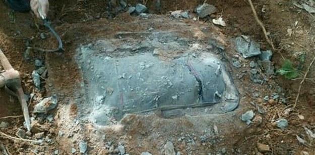 holttestet rejtő bőrönd (Array)