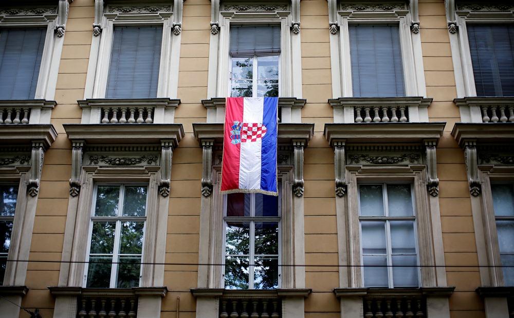 horvát zászlós épület (Array)