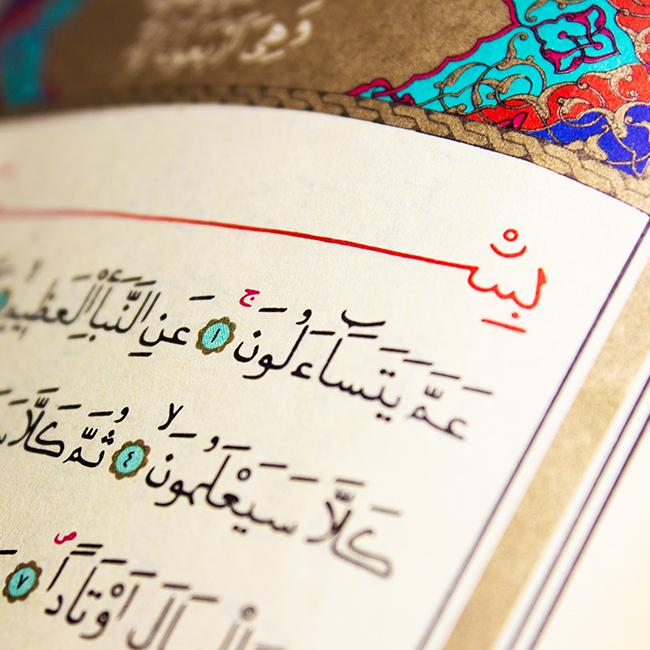 iszlám, Korán, muszlim (Array)