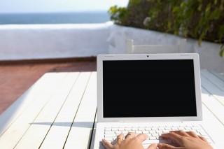 laptop, strand (Array)