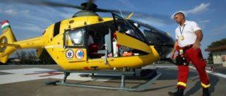 mentőhelikopter (Array)