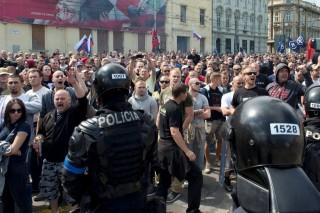 pozsony tüntetés (Array)