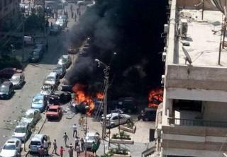 robbantás kairóban (Array)