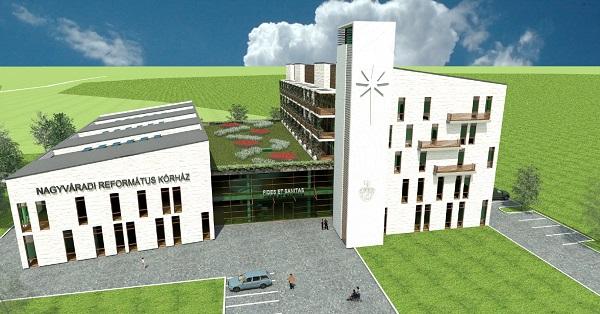romániai magyar kórház látványterv (Array)