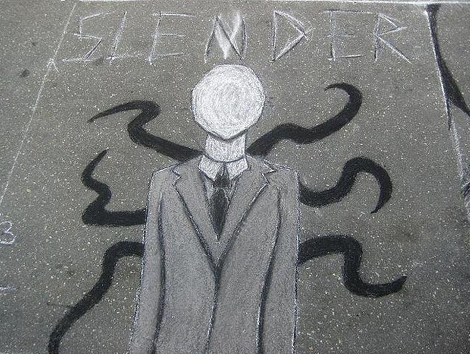 slender man rajz (Array)