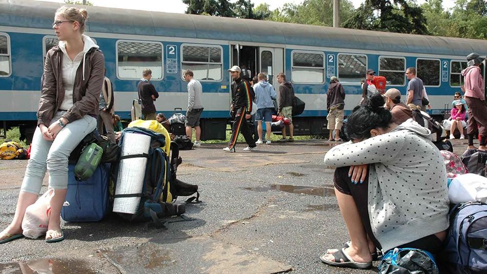 vonat, vasút, Balaton, MÁV (Array)