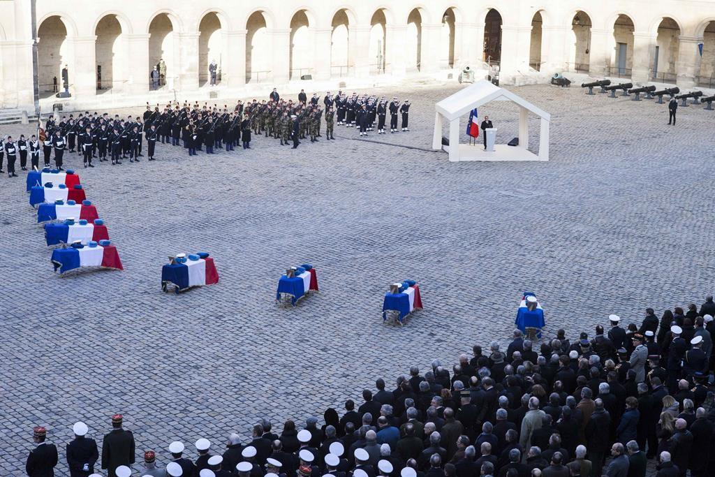 A spanyolországi F-16-baleset utáni temetés (Array)