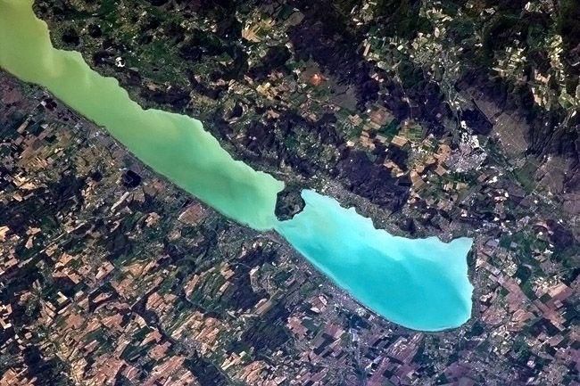 Balaton az űrből (Array)
