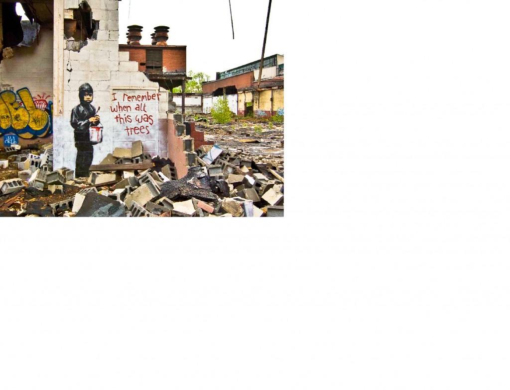 Banksy-kép (Array)