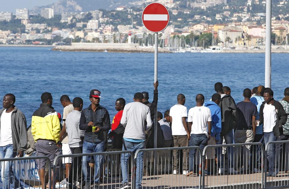 Bevándorlók Franciaországban (Array)