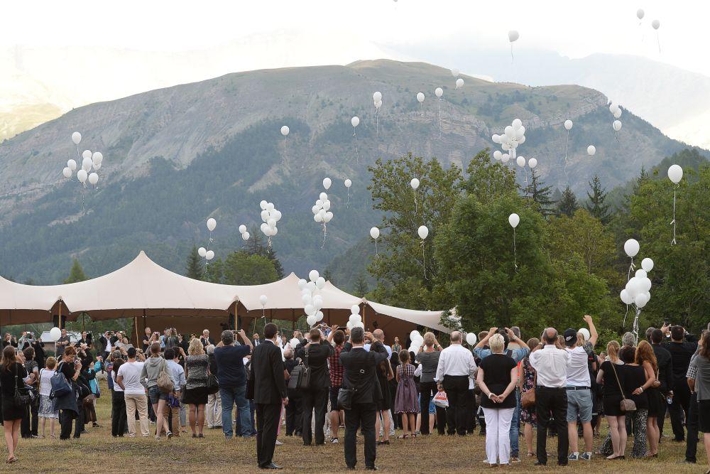 Germanwings-ceremónia (Array)