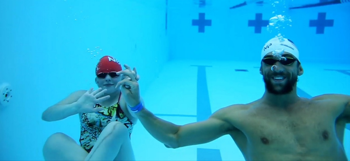 Hailey Canaday, Michael Phelps (Array)