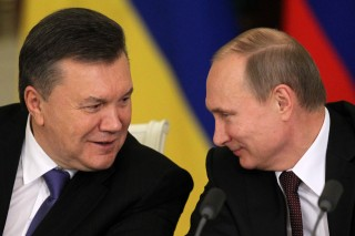 Janukovics, Putyin (Array)